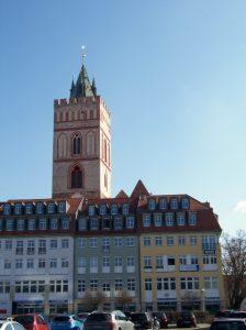 Blick auf die Marienkirche Frankfurt (Oder)