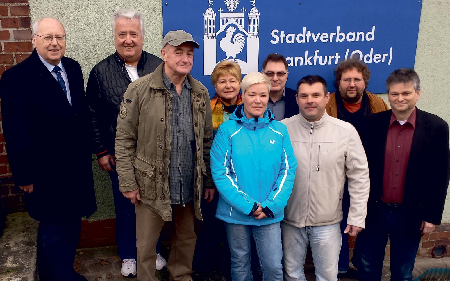 Vorstand des AfD-Stadtverbandes Frankfurt (Oder)